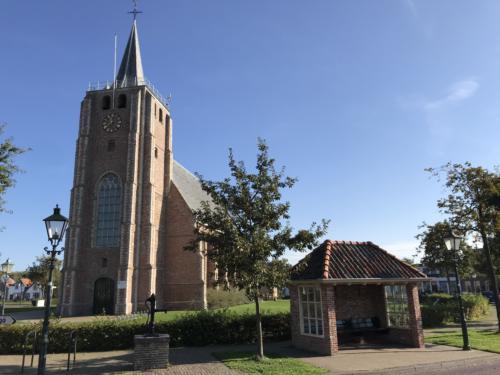 De kerk van Renesse