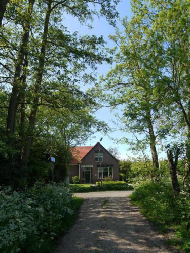 Huize 'De Toekomst' waarnaar de camping is genoemd