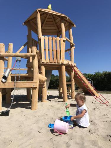 Met zand kun je áltijd spelen!