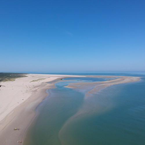 Renesse strand landtong